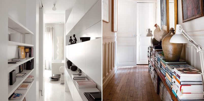 Ideas originales para tener el pasillo decorado - Fotos de pasillos decorados ...