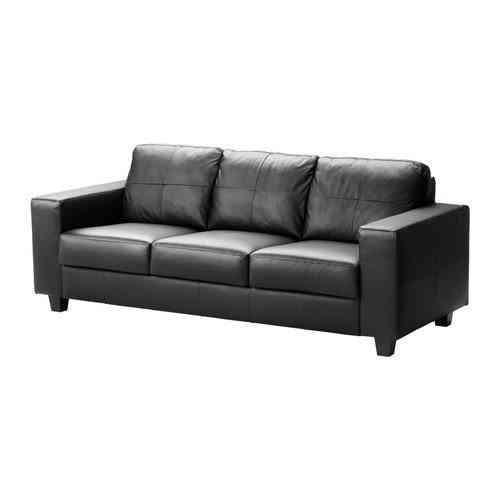 sofás de piel con tres plazas