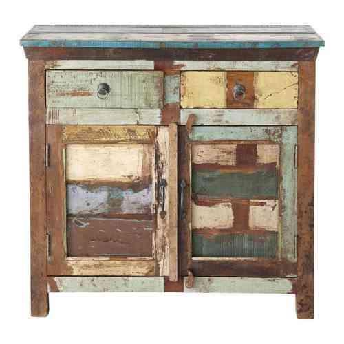 aparador de madera reciclada