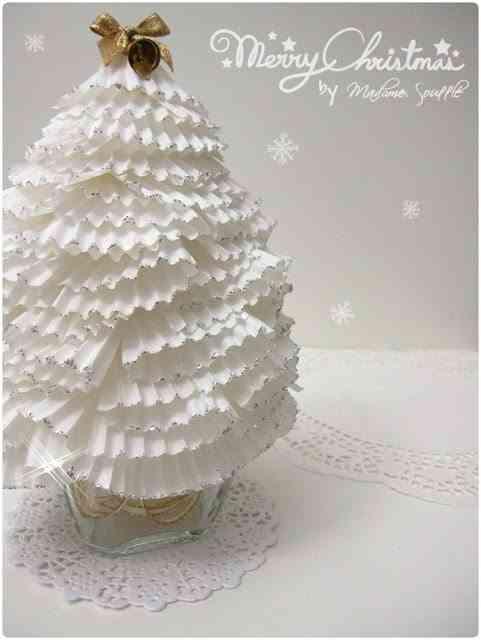 árbol de navidad de magdalenas
