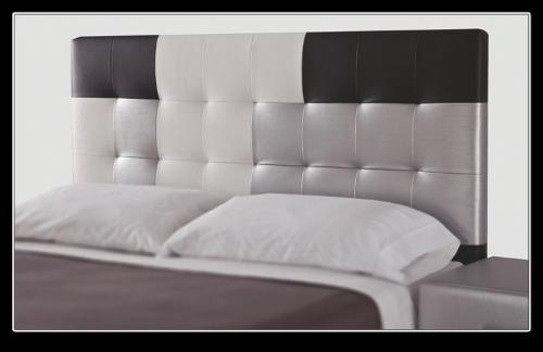 Cabecero tapizado con mucho estilo para decorar dormitorio - Muebles boom cabeceros ...