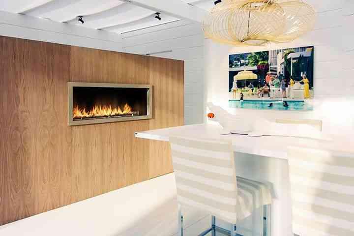 chimenea de diseño planika - cocina