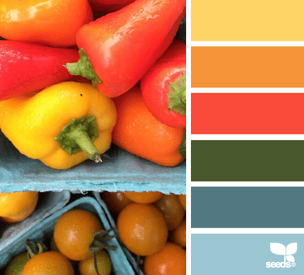 colores de inspiración vegetal