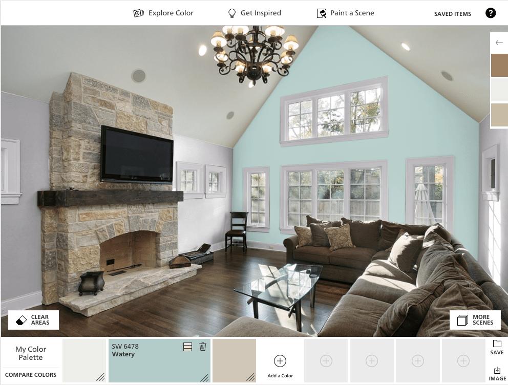 colorsnap virtualize para pintar tus habitaciones