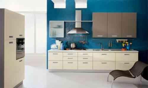 Color Azul Para La Decoracion De Cocinas Atractivas - Colores-de-cocina