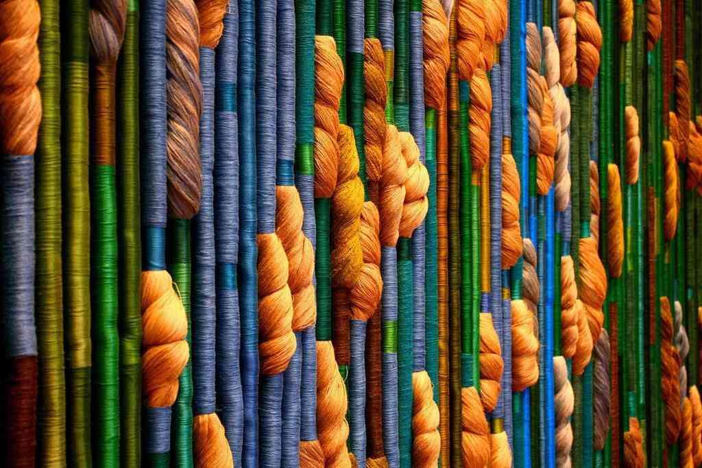 cuerda de colores