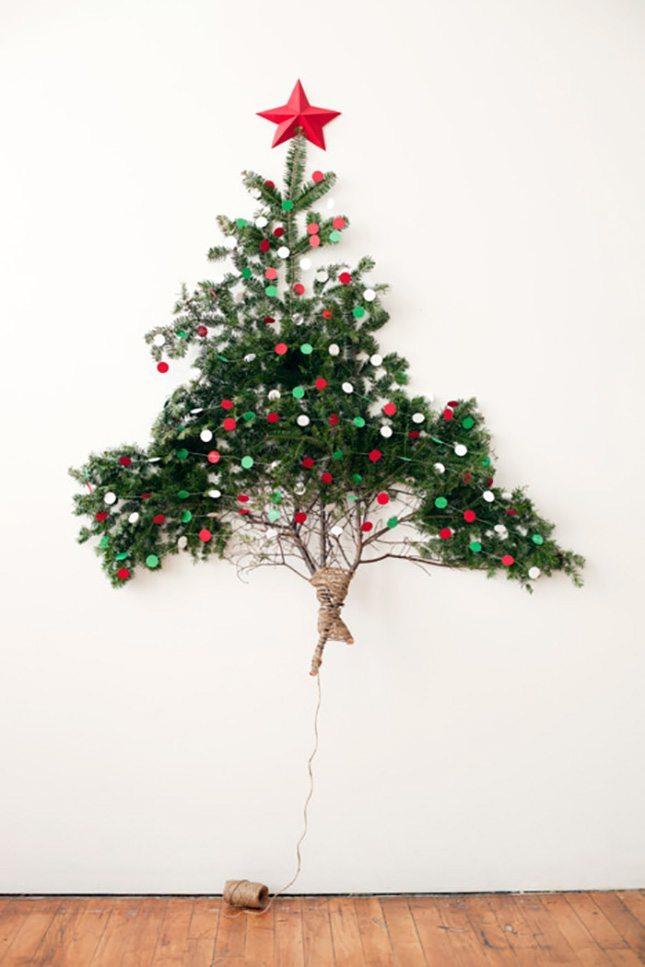 DIY - arbol de navidad natural