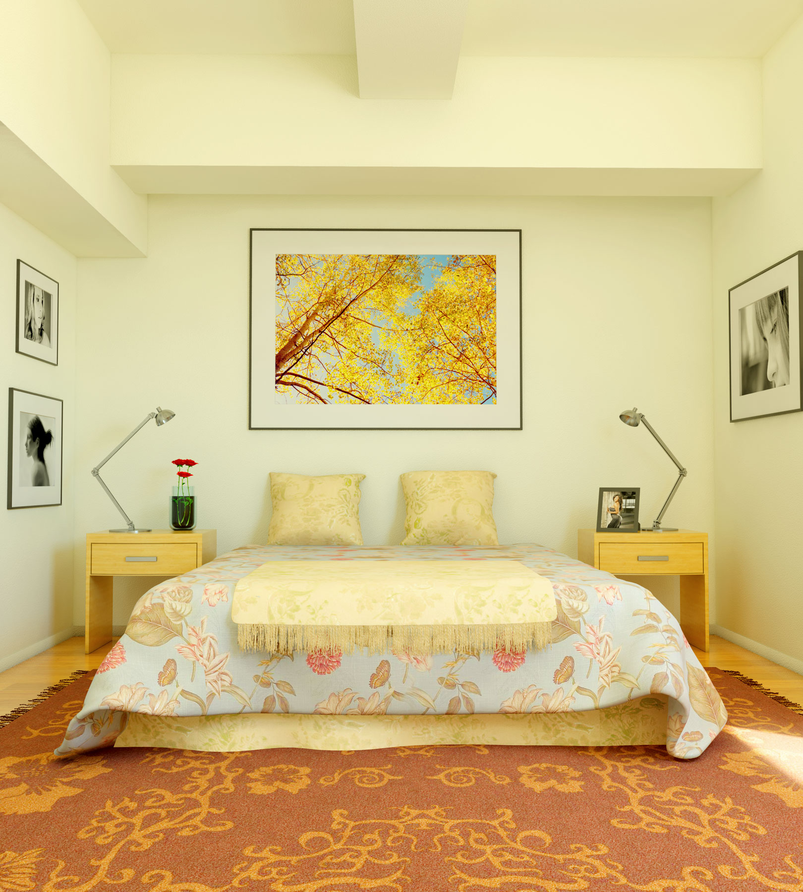 dormitorio renovado