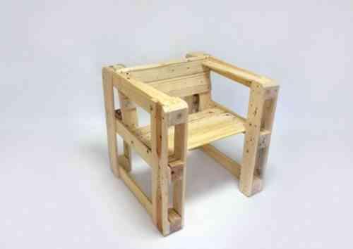 sillón de palets