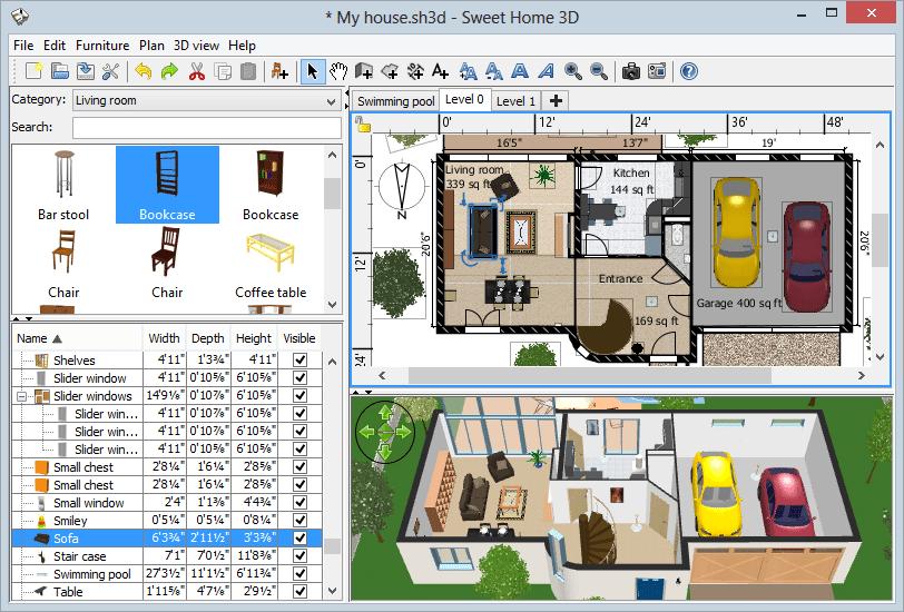 aplicación para decorar la casa