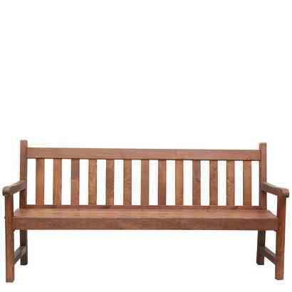 Banco de madera de pino tratado para jard n for Banco madera jardin