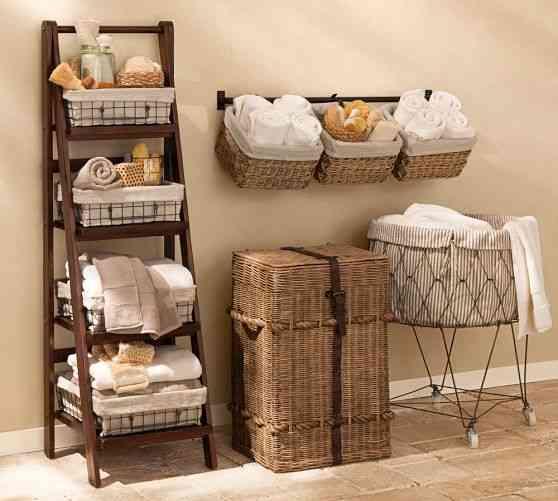 Decorar con cestas los rincones del hogar genial - Accesorios para decorar ...