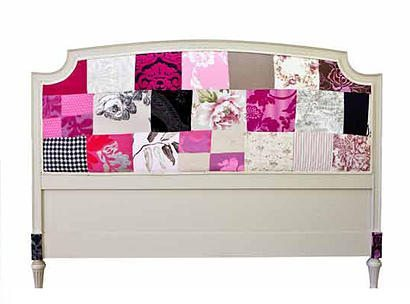 decoupage headboard