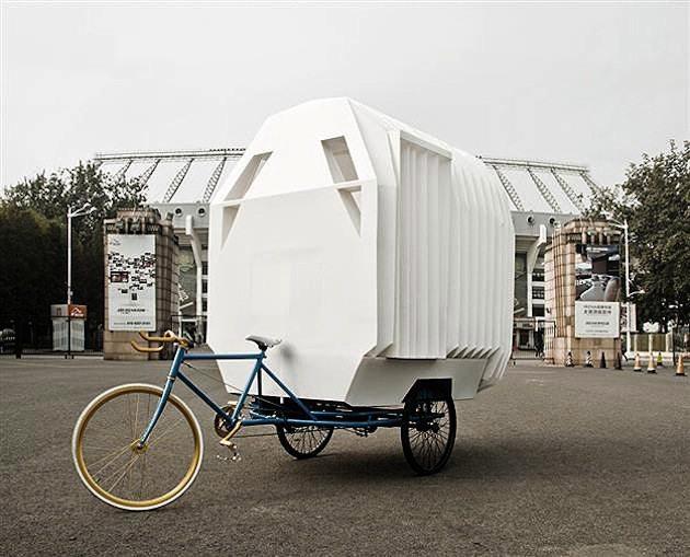 casa bici pequeña