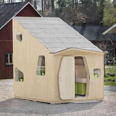 casa sostenible pequeña