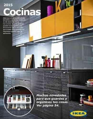 catálogo Ikea 2015 cocinas
