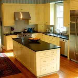 El color amarillo para pintar las paredes de la cocina for Pintura para el color de la cocina