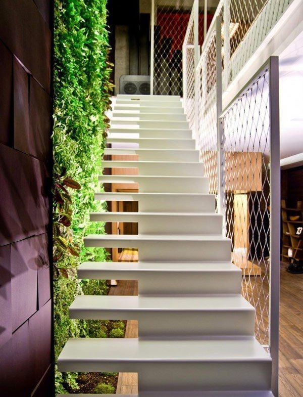 Ideas para decorar las escaleras de interior for Colores modernos para exteriores