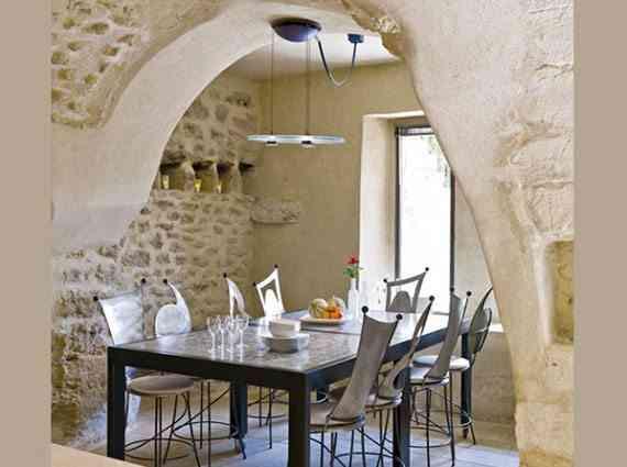 masia-rustica-mesa de comedor