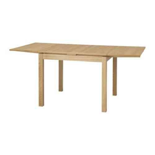 Mesa extensible, chapa roble BJURSTA / IKEA