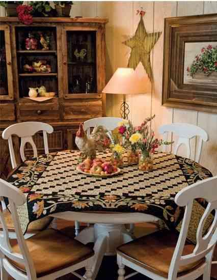mesas redondas para decorar 5