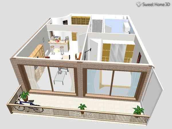 Aplicaci n para decorar tu casa en 3d - Sweet home muebles ...