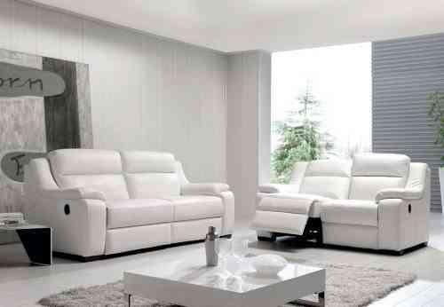 sofá de piel bahía para el salón