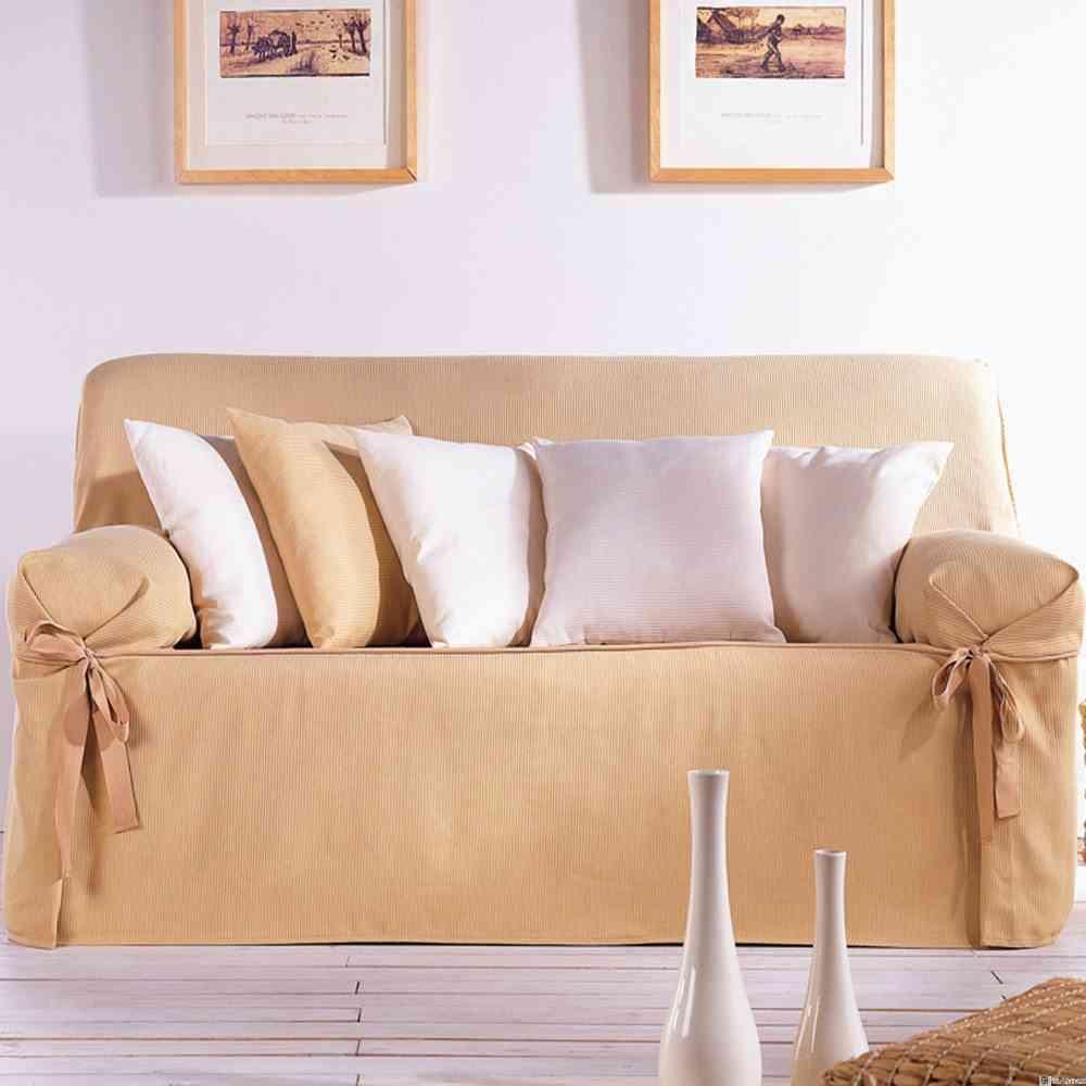 Las fundas de sof en la decoraci n - Fundas sofas ajustables ...