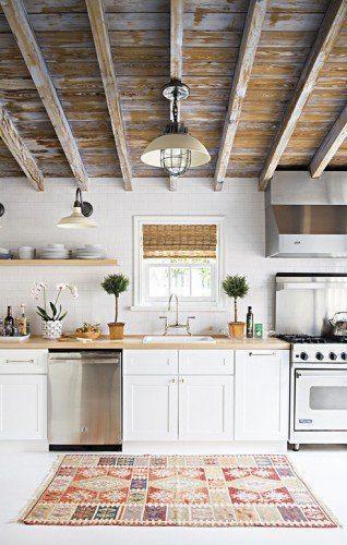 techo de madera para cocinas