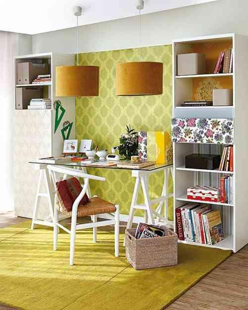 decorar dormitorios originales - zona de trabajo