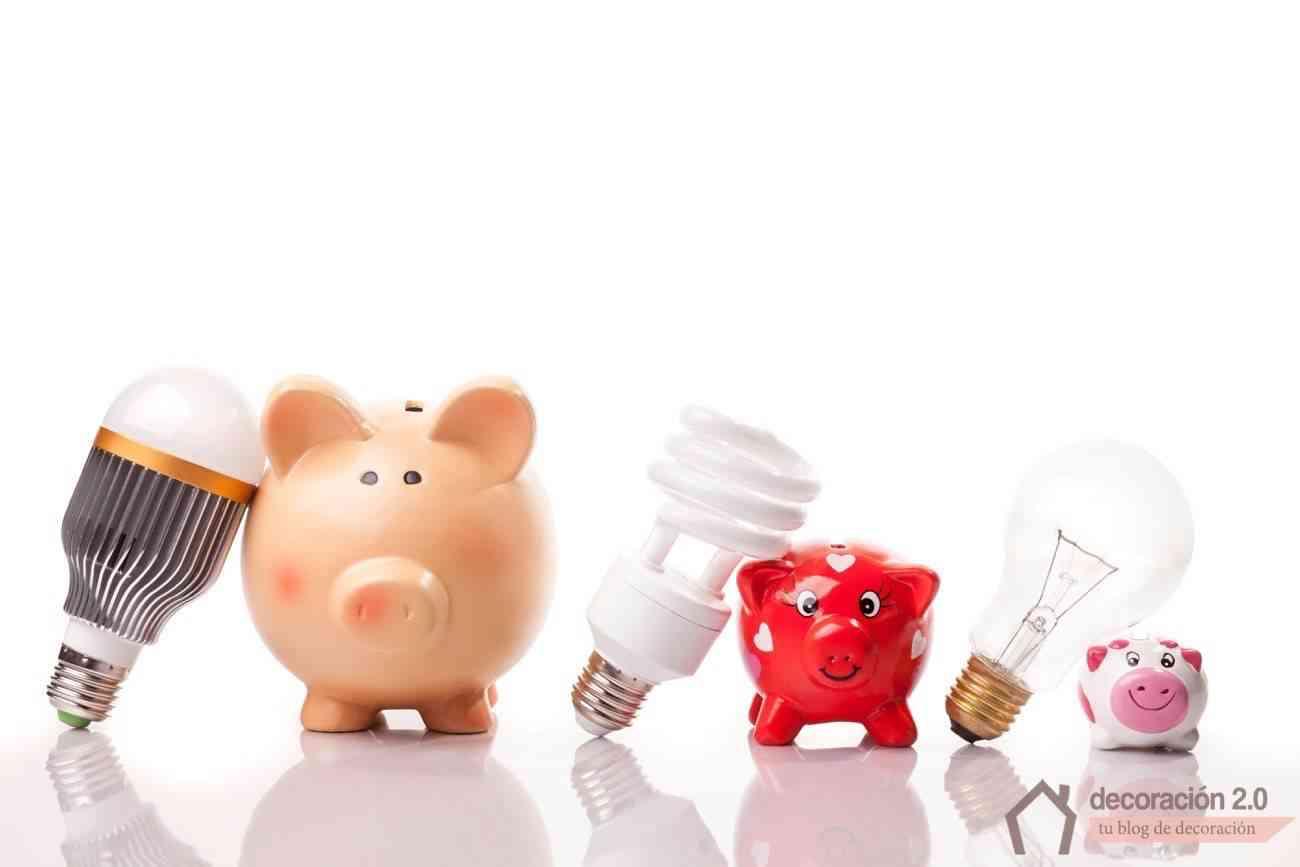 ahorro con iluminación led