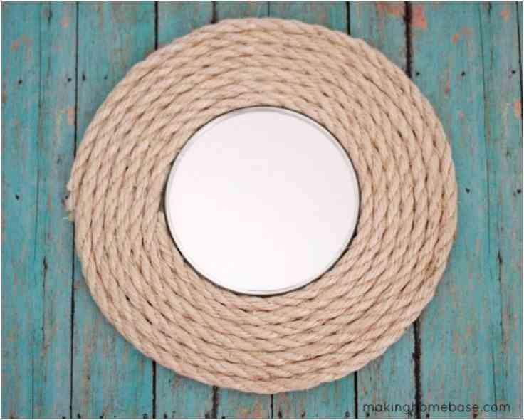 decorar con cuerda rustica