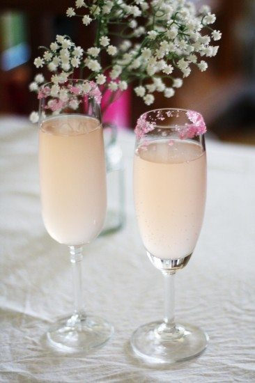 cocktel de champán