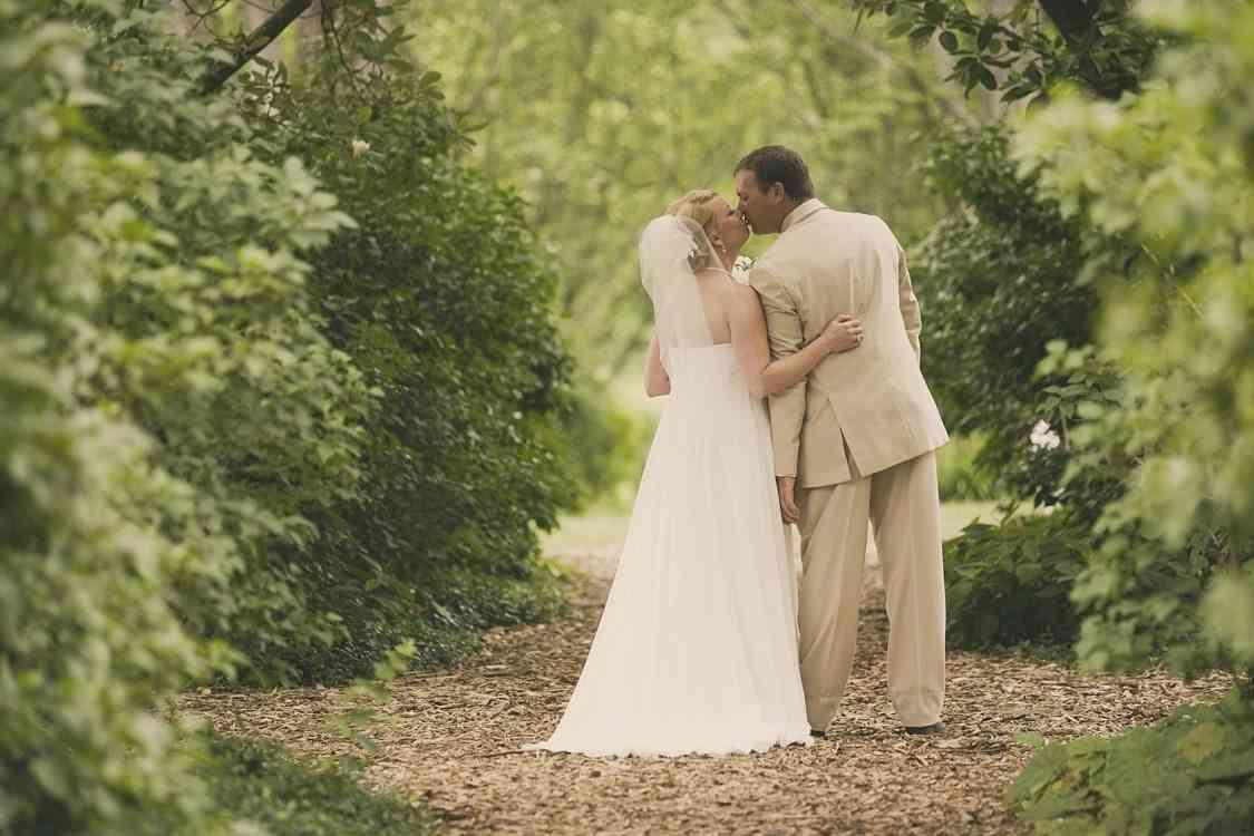 foto boda en jardín