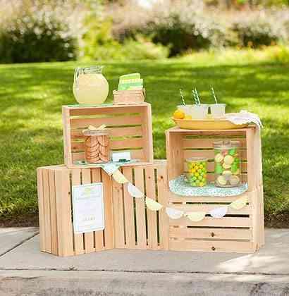 Ideas para decorar tu casa con cajas de madera - Cajas de madera para decorar ...