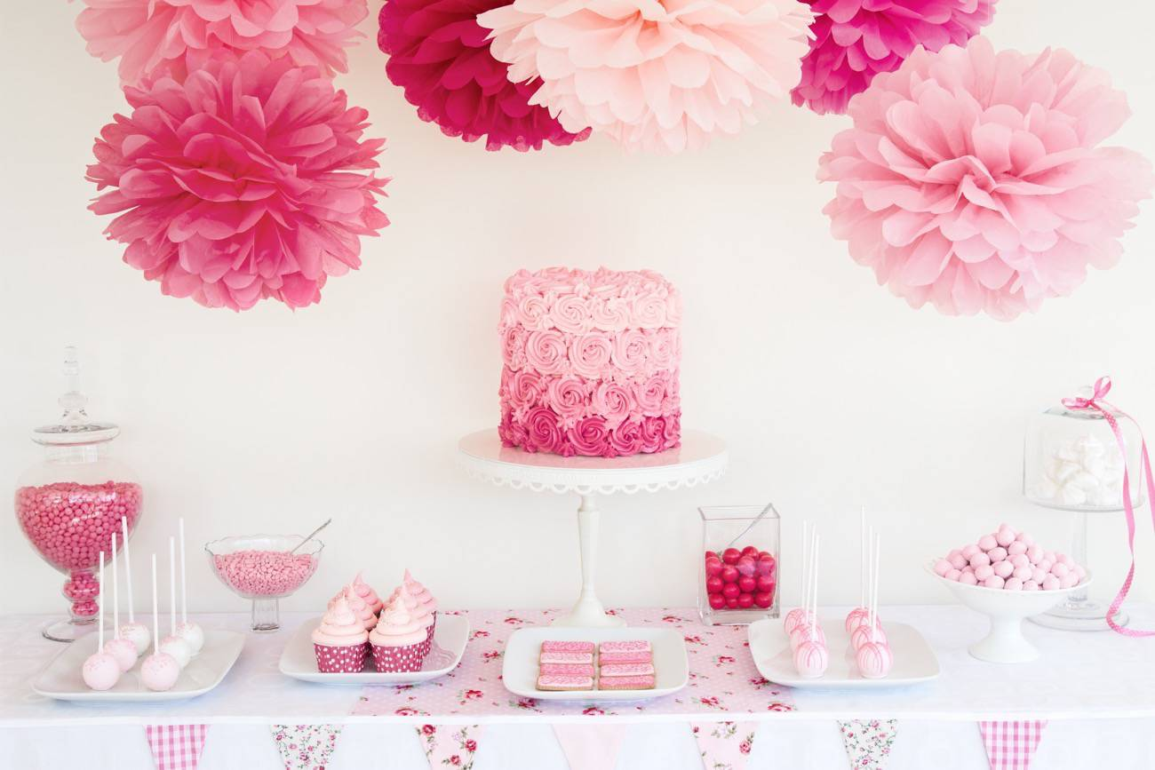 C mo decorar una fiesta baby shower de ni a for Decoracion baby shower nina