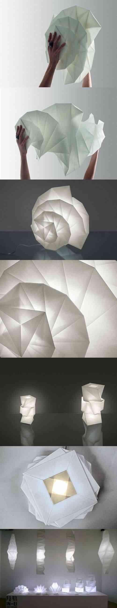 lamparas de papel - 3
