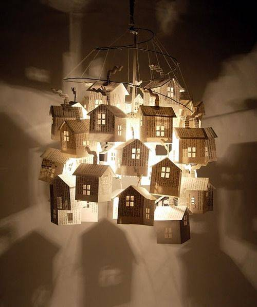 lamparas de papel - 5