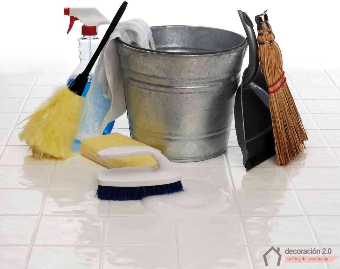 limpiar las juntas de las baldosas con productos