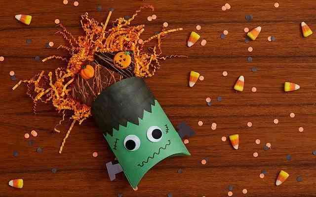 piñata dulcero de cartulina