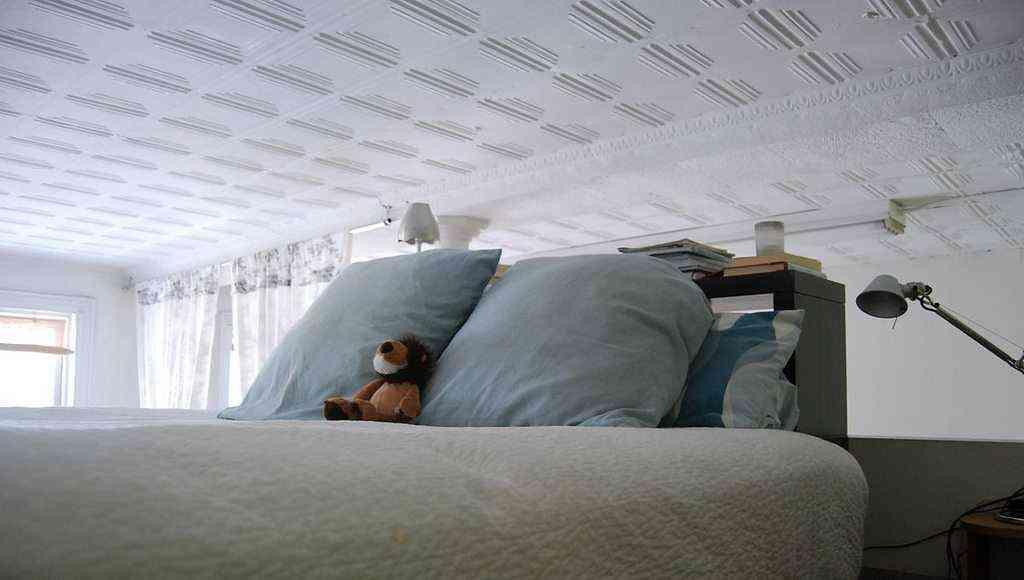 Decorar un piso pequeño. Dormitorio