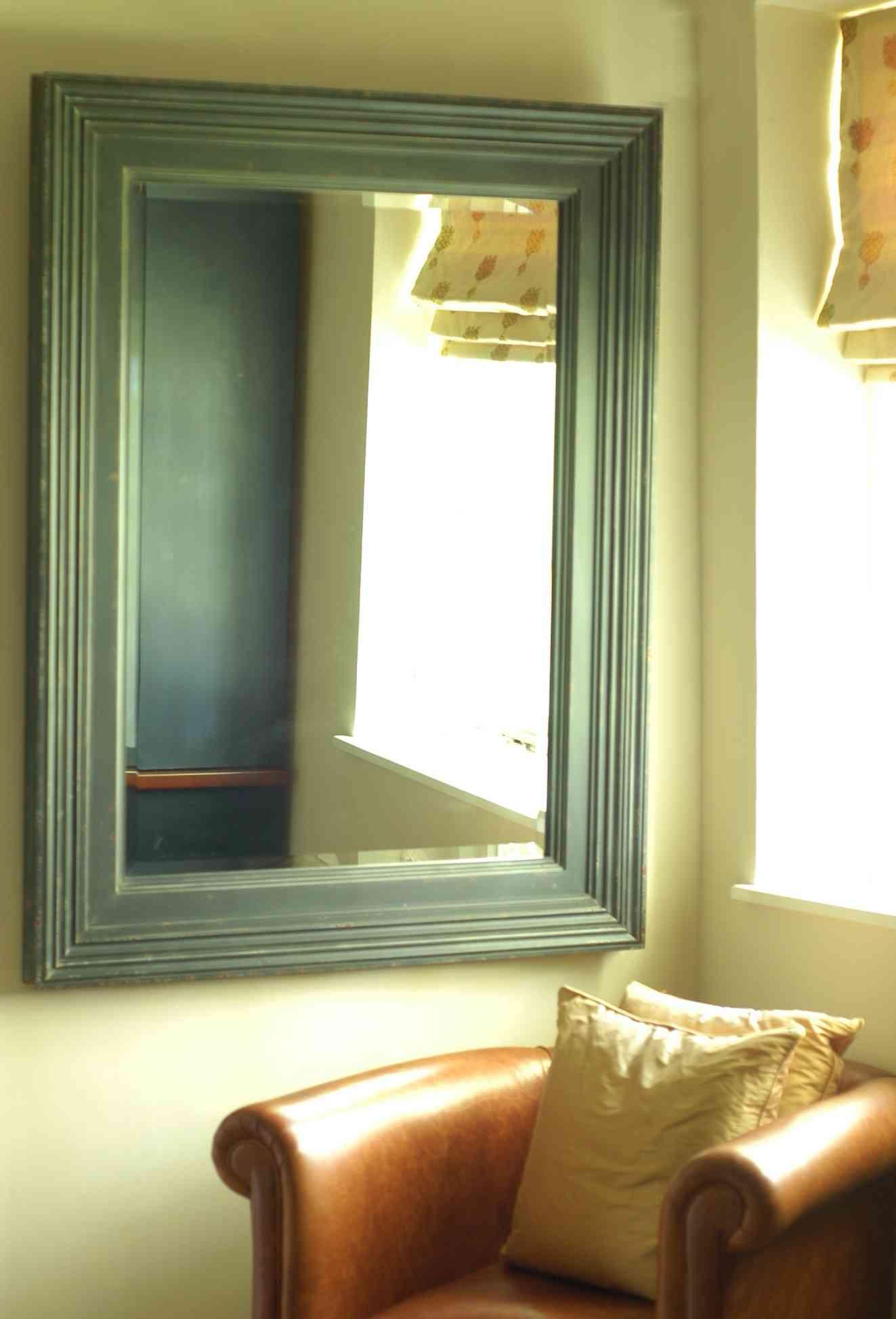 ventana y espejo