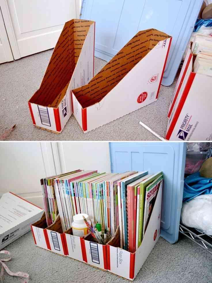 archivadores de cartón