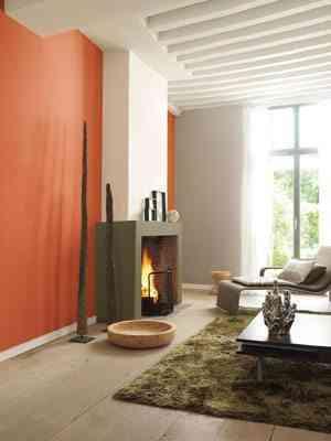 colores bruguer en naranja