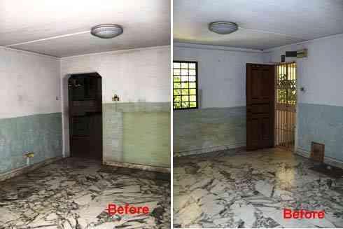 Remodelaci n de una casa vieja el antes y el despu s for Como remodelar una casa vieja con poco dinero