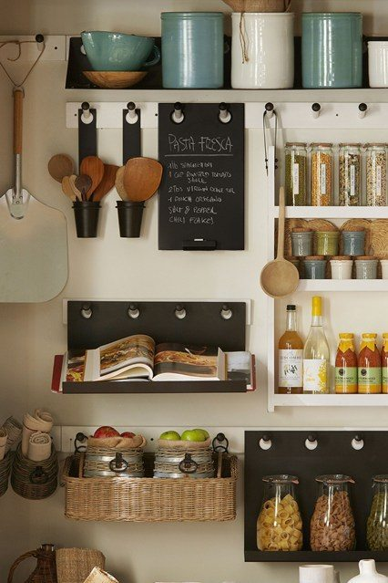 Una cocina bien organizada