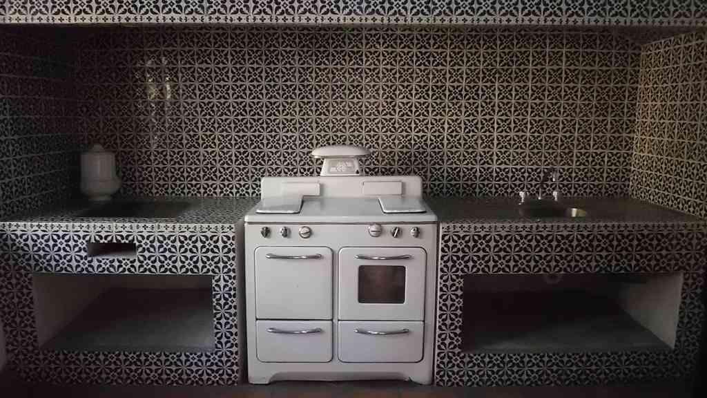 Colocar en una cocina