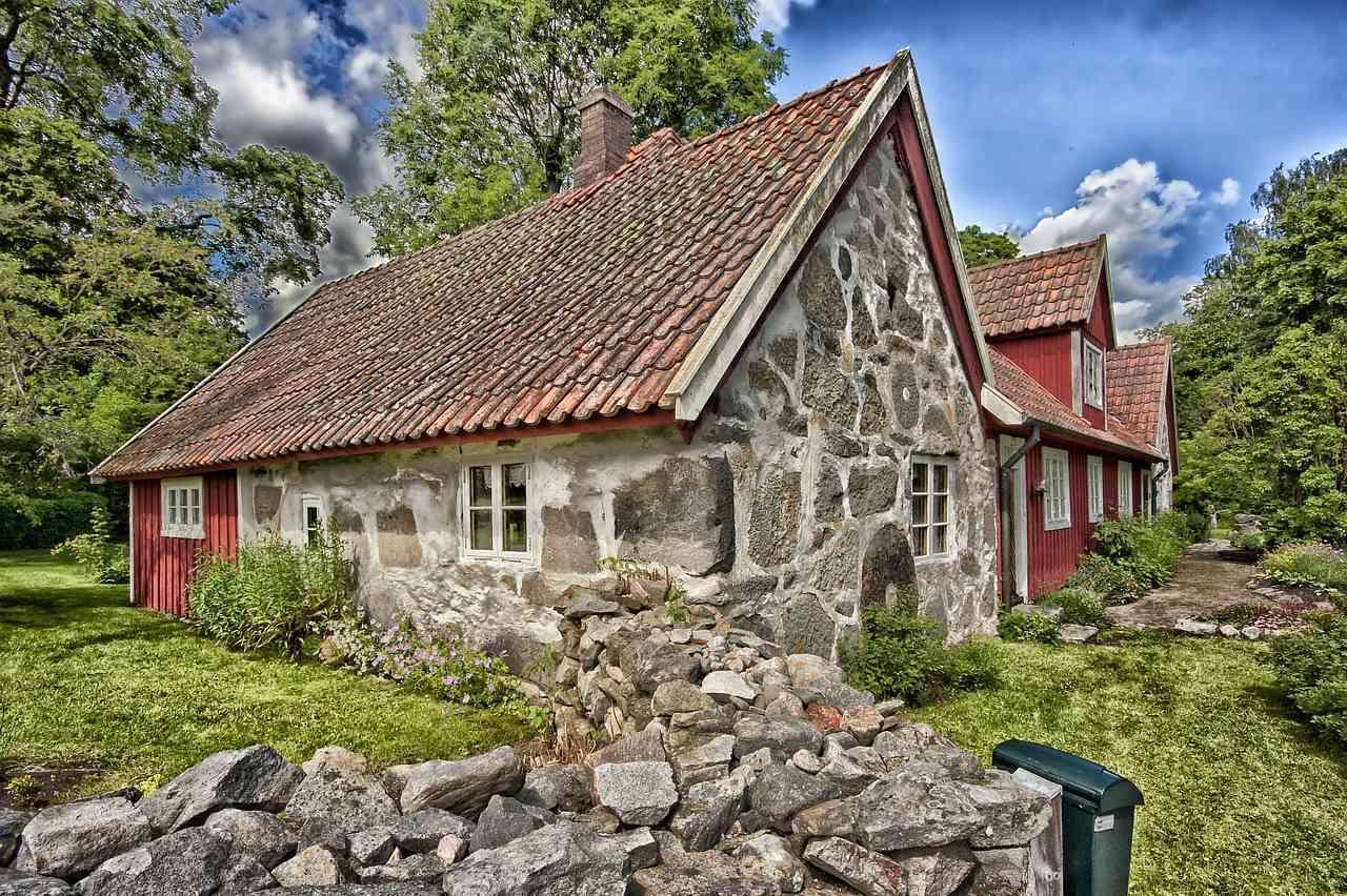 20 fachadas de casas peque as que te sorprender n - Fotos de casas de piedra ...