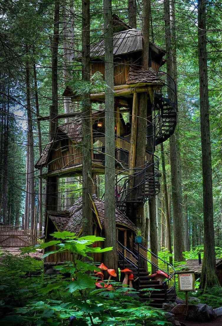 Una casa del árbol épica