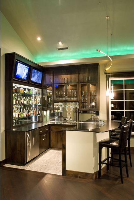 Full bar in our home